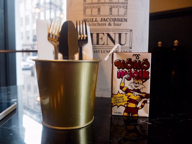 Egill Jacobsen breakfast menu Reykjavik Iceland