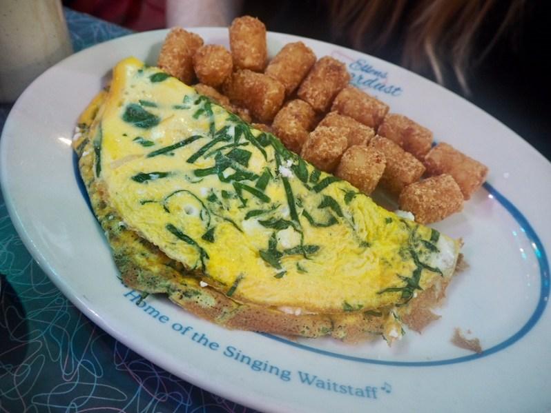 Ellen's Stardust Diner New York breakfast menu