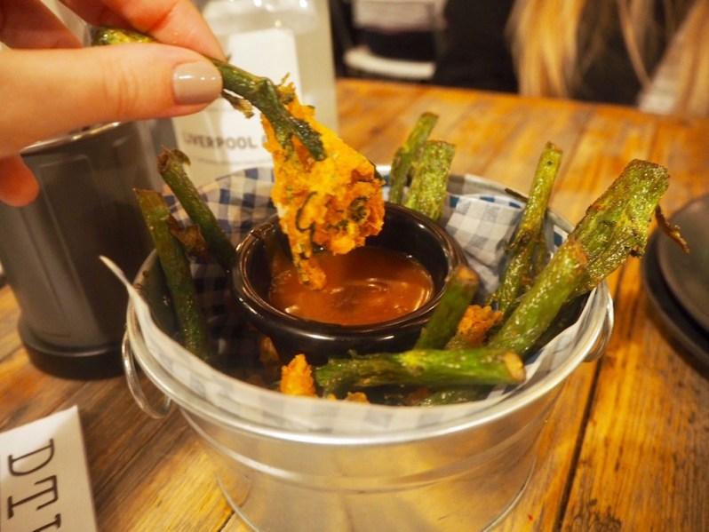 Down the Hatch Liverpool vegetarian and vegan restaurant food menu
