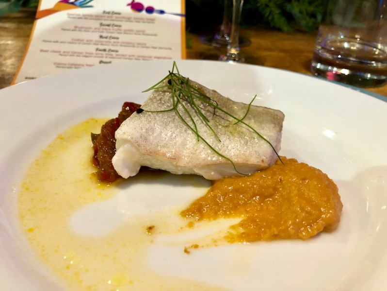 Campo Viejo at The Loft Manchester, Michelin Star Spanish meal by Xabi Banillo chef
