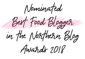 Best food and drink blogger in the North West
