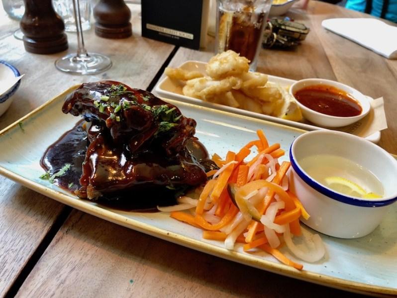 Hanover Street Social Liverpool restaurant food menu