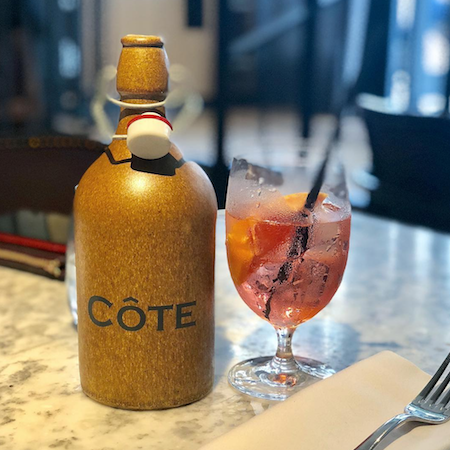 Pampelle Spritz at Cote Brasserie Chester