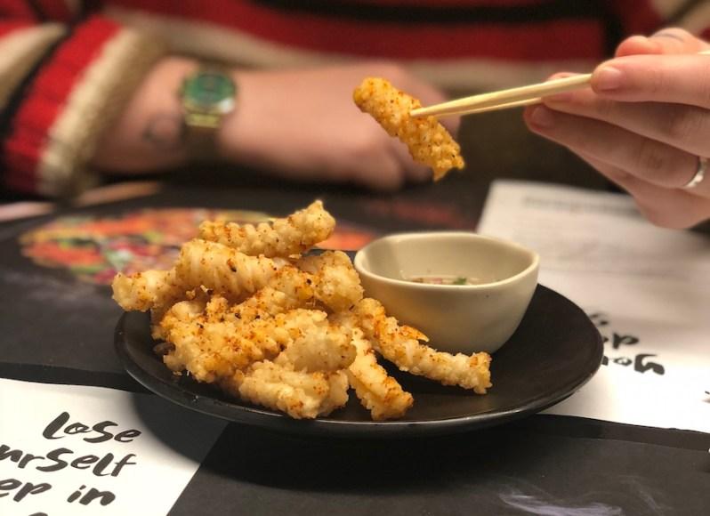 Wagamama Chilli Squid