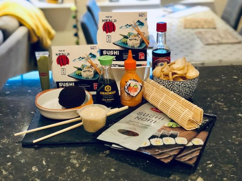 homemade sushi ingredients needed