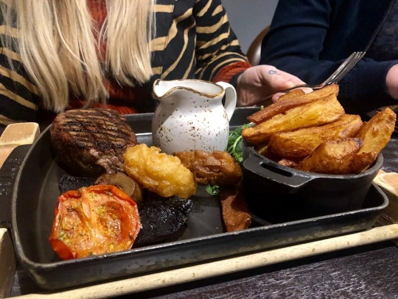Titanic Hotel Liverpool food menu