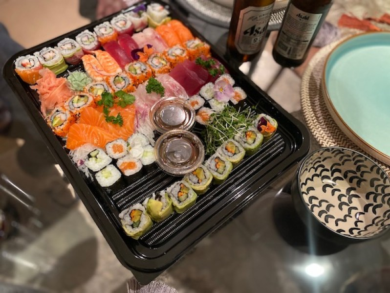 Lay the Table Liverpool delivery Sapporo sushi review