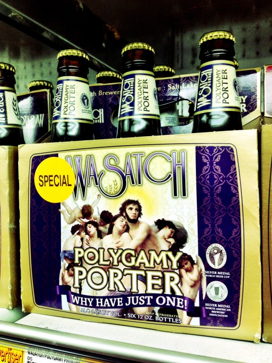 Never drank it, since I don't like porter, but I just had to post it anyway. Only in Utah folks!