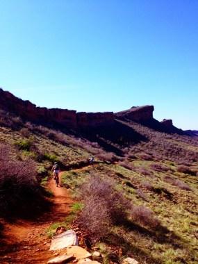 Nice flowy trails on Coyote Ridge
