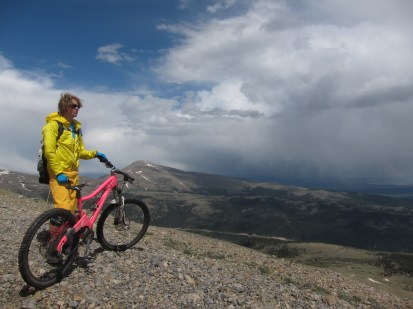 Dark clouds and bright boys on Mt Bros