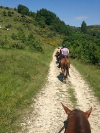 Dubble track in Umbria