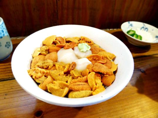 Uni Hotate Bowl - Hachinohe