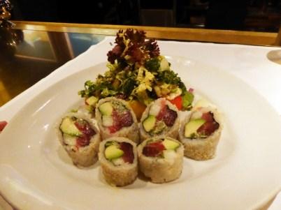 Spicy Tuna Roll Salad - $21