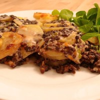 The science of vegetarian easy cheesy lentil-smothered potatoes