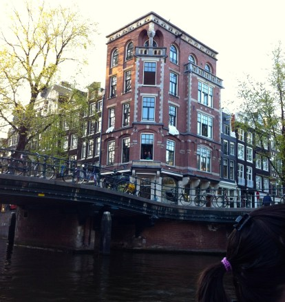 what a great way to see the canal houses