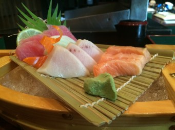Salmon, Swordfish, Tuna