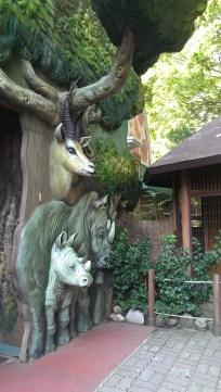 Zoo in zeh amusement park