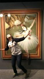 How do I ballerina?