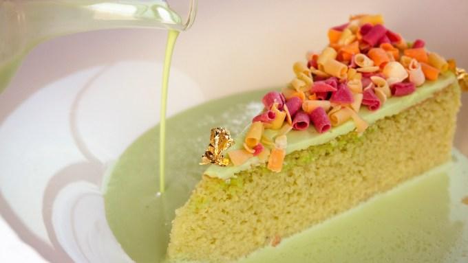 Pistachio Milk Cake