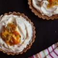 No Bake Passionfruit Tart