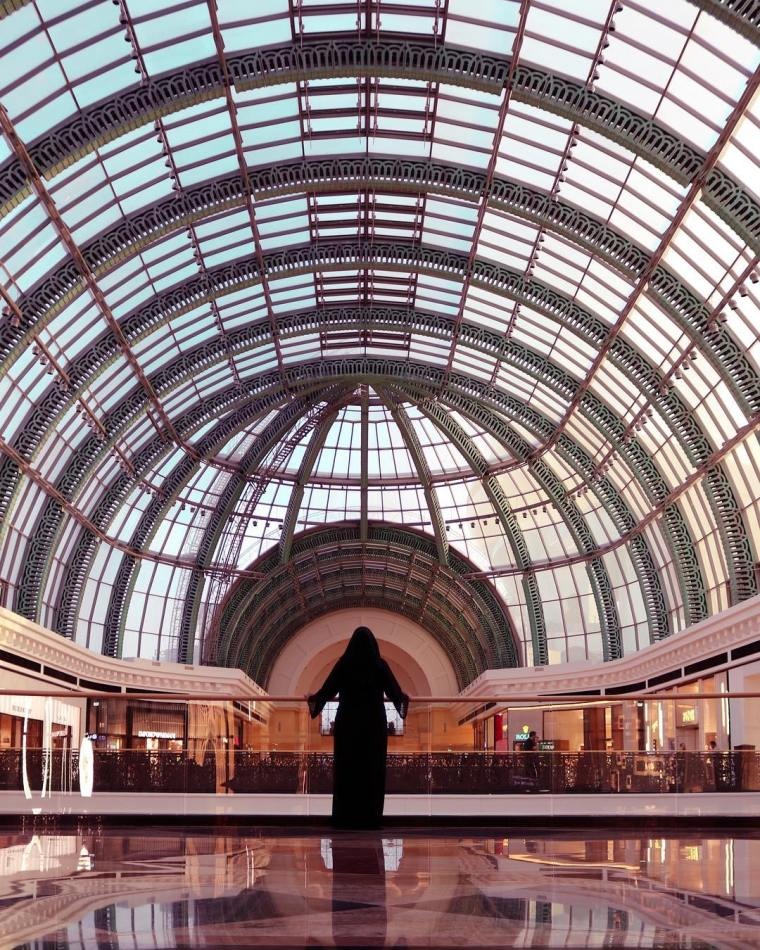 Mall of the Emirates, Instagrammable spots in Dubai