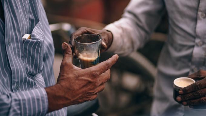 Roadside chai in Ahmedabad Local Sightseeing