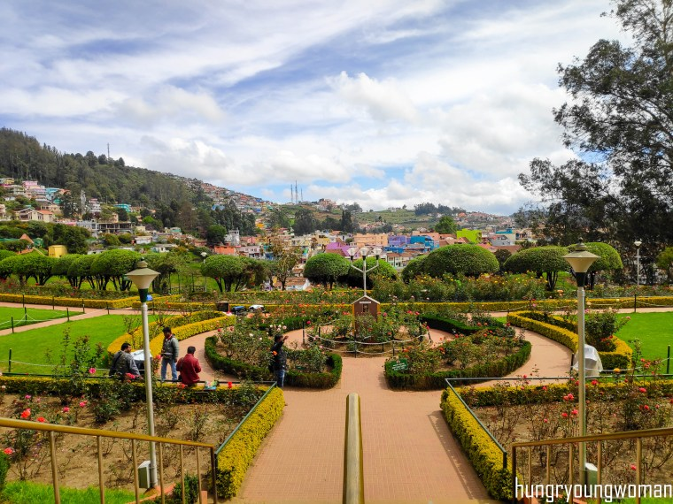 Rose Garden - best things to do in ooty in 3 days