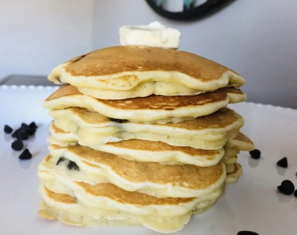 A stack of Colby's Pancakes
