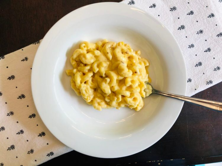 Baked Havarti and Cheddar Macaroni and Cheese