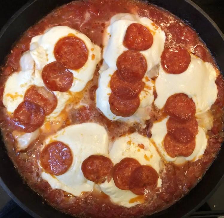 Pizza Chicken Skillet