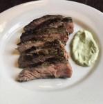 Cilantro Lime Marinated Flank Steak