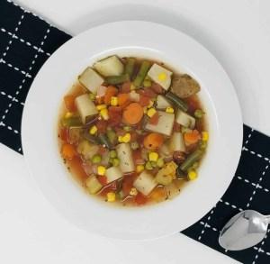 Healthy Loaded Vegetable Soup