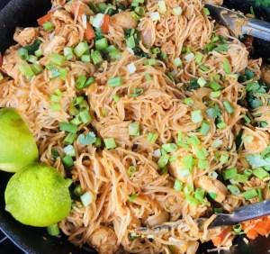 Easy Spicy Chicken Ramen