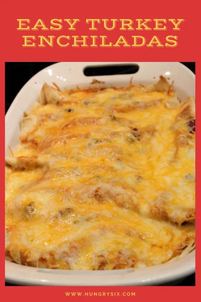 Turkey Enchiladas Pin