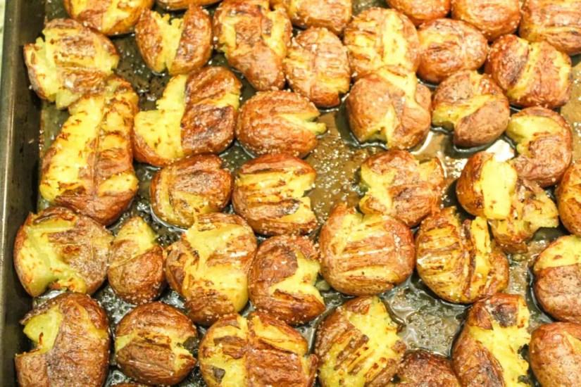 Easy Smashed Potatoes