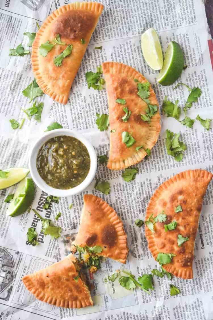 Easy Meat and Potato Empanadas (Puertorican Style Empanadillas)