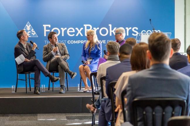 Natallia Hunik at Finance Magnates London Summit 2019