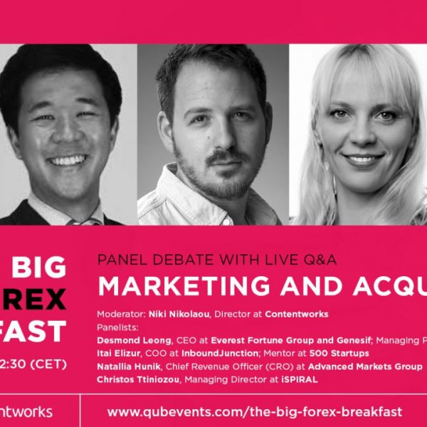 Big Forex Breakfast – Sales Strategies and Marketing & Acquisition panels