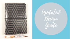 Step-by-step instructions for how to order a custom Hunkeedori Travelers Notebook.