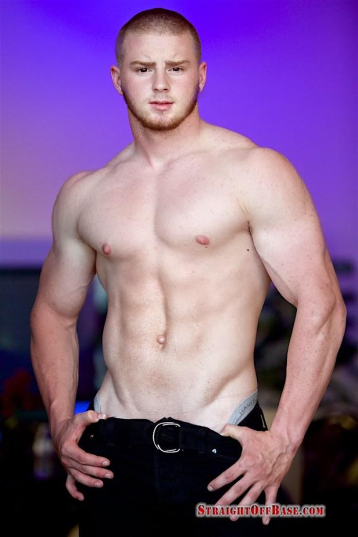 straight bodybuilding marine