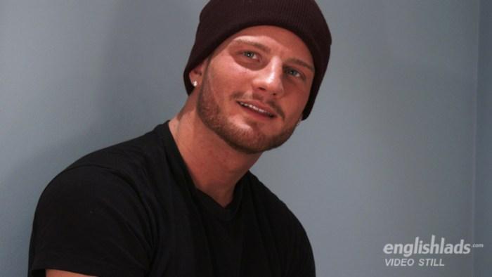 Handsome straight guy Justin McGregor
