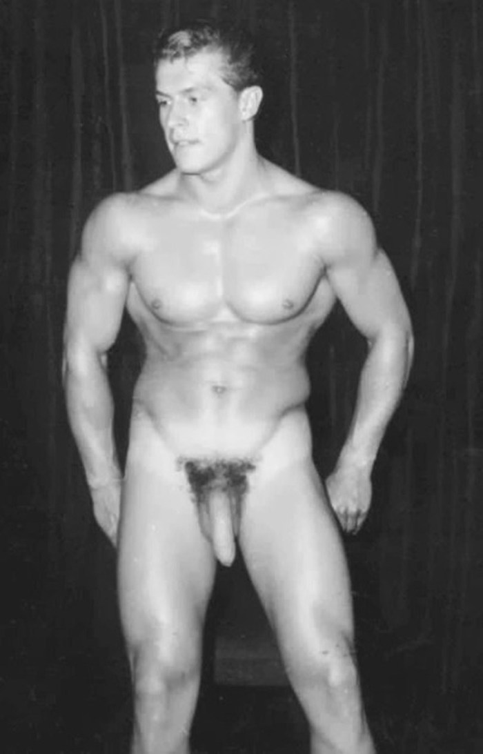 naked and hung Helmut Riedmeier