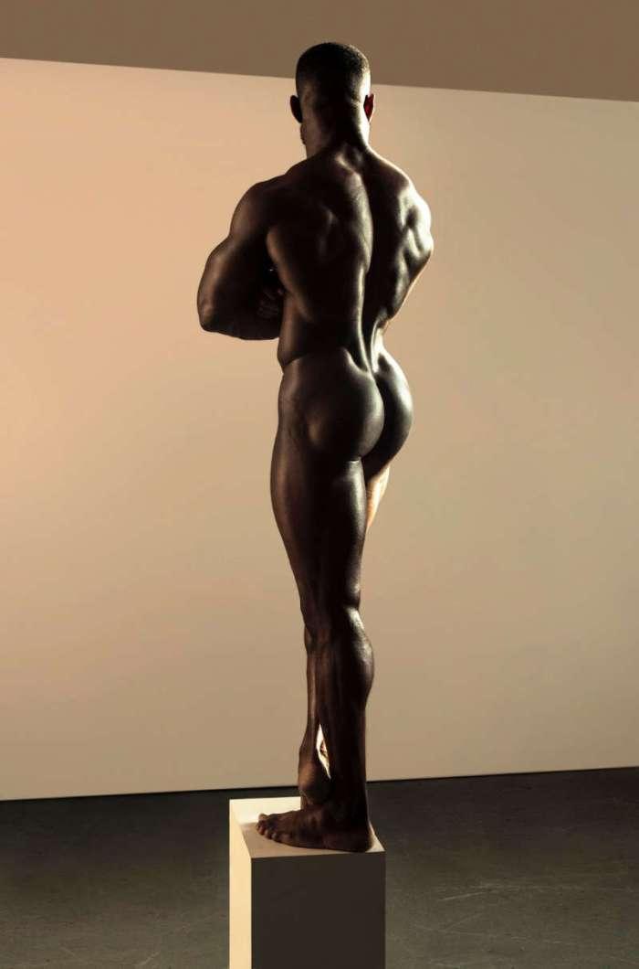 sexy male model Daniel Shoneye naked