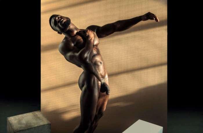 muscle man Daniel Shoneye nude