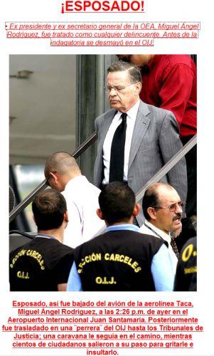 Miguel Angel Rodriguez Echeverría, ex presidente de Costa Rica