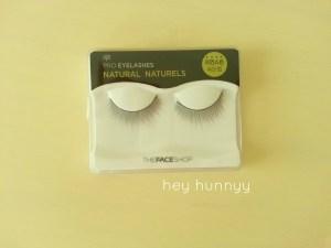 face shop eyelashes heyhunnyy