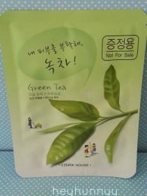Etude House Green Tea Mask