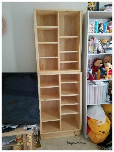 ::MAKEUP SHELF:: Custom Built Makeup Shelf!