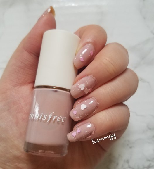::Nails:: Muted Hearts!