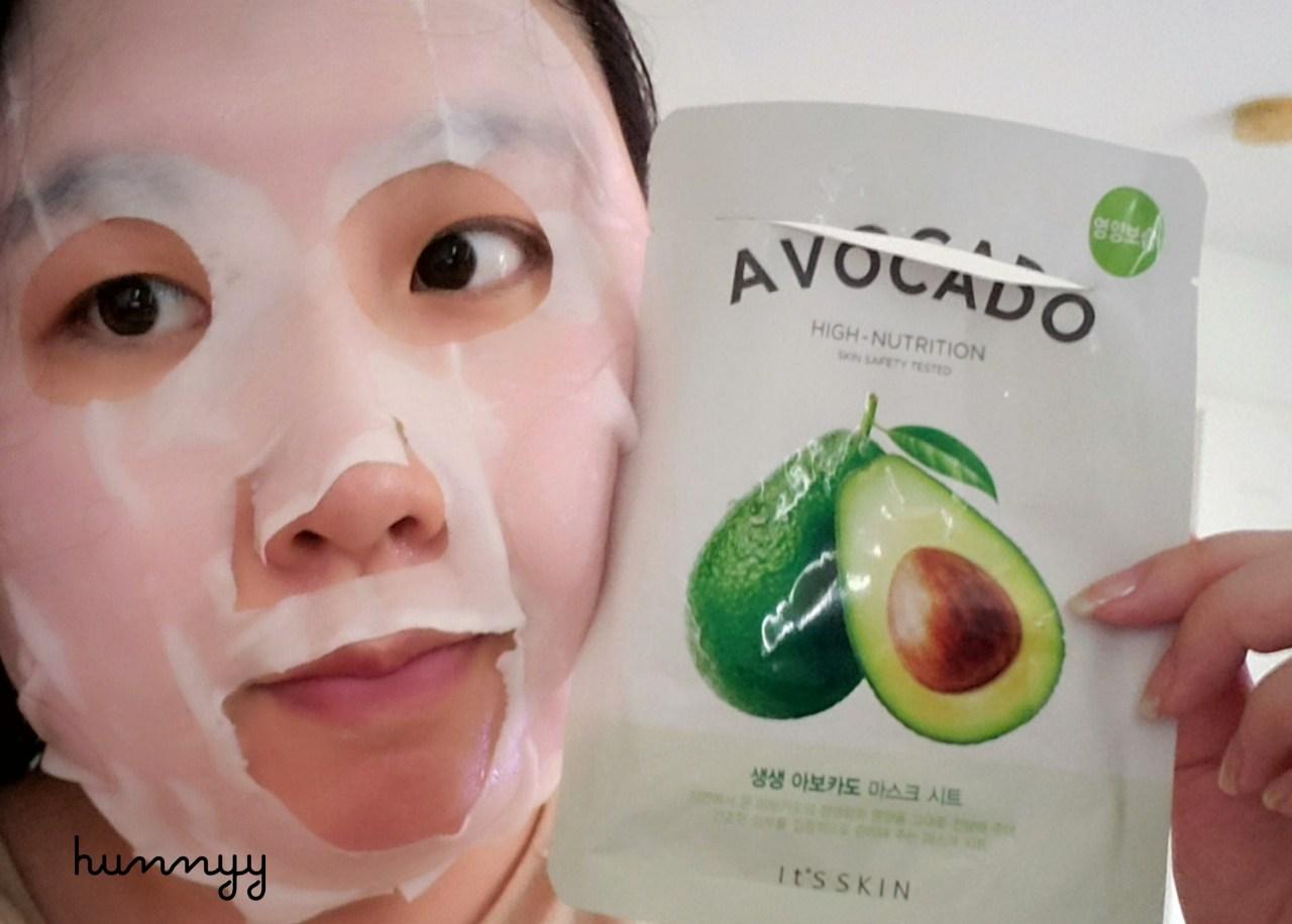 ::REVIEW:: It's Skin- Avocado Sheet Mask!!